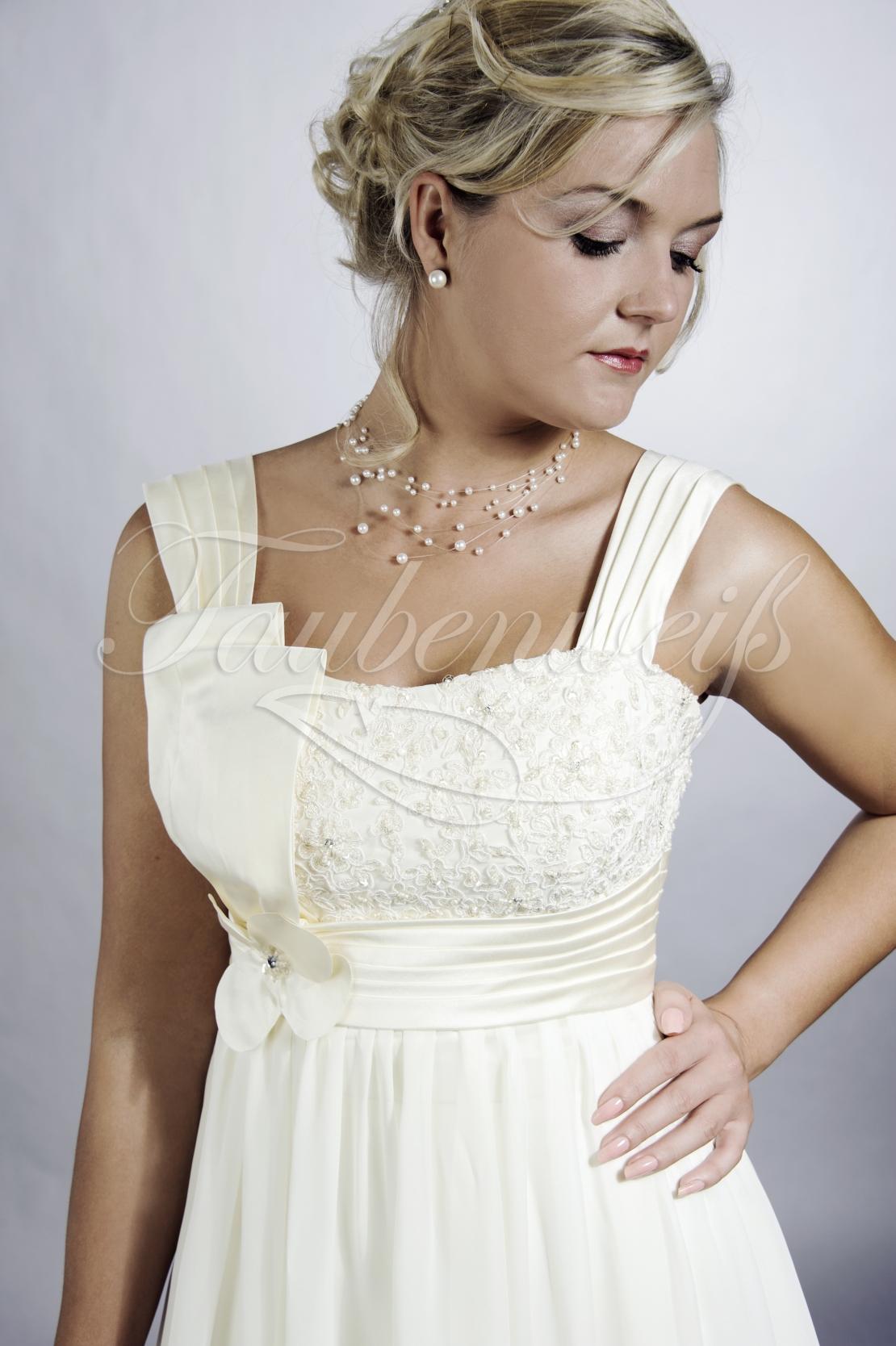 Brautkleid TW0093B im Empire-Stil für Schwangerschaft